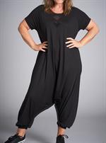Gozzip Black - Kathrine Jumpsuit, Sort