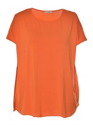Gozzip - Viskose Bluse, Orange